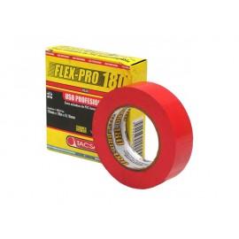 CINTA PVC FLEX PRO-180 x 10M - ROJO
