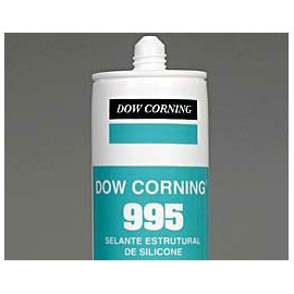 SELLADOR 995 X 592 ML NEGRO DOW CORNING