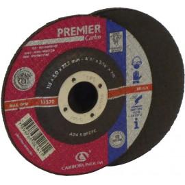 DISCO T27 PREMIER 115 x 5,0 x 22,2  AC.INOX CARBORUNDUM