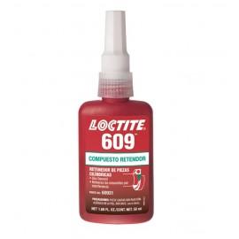fijación de partes loctite 609 X  50 ML L60950