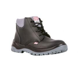 Botin calzado de trabajo de seguridad ATT cuero box negro