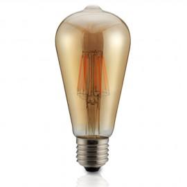 LAMPARA AMBAR FILAMENTO LED 8W SMD 3000K